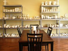 paint your own pottery at River City Pottery in Chattanooga, TN