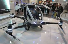 Ehang 184 passenger drone China
