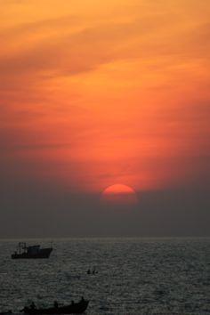 Sunset at Kerala