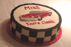 Vintage Car Cake   Classic Bel-Air car cake — Birthday Cakes