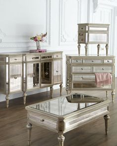 Dresden Mirrored Coffee Table
