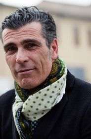 On the Street…. The Fortezza, Florence  #fashion #men's wear #scarves #scarf #dapper