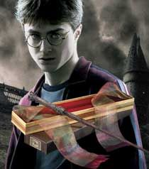 Harry Potter's Wand with Ollivanders Box :D