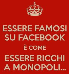 Essere famosi su facebook