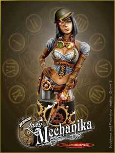 Lady-Mechanika-bust