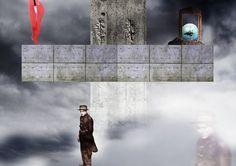 Pulmón (Ubé. 2017. collage + digital art)