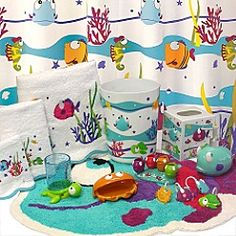 Somethings Fishy Collection Kid Bathrooms