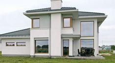 Z klasą 1 - realizacja 2 - DOMY Z WIZJĄ Duplex Design, Home Fashion, Mansions, House Styles, Modern, Case, Home Decor, Mansion Houses, Decoration Home