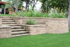retaining wall ideas | Retaining Wall Landscaping Ideas - Retaining Wall Landscape Designs ...