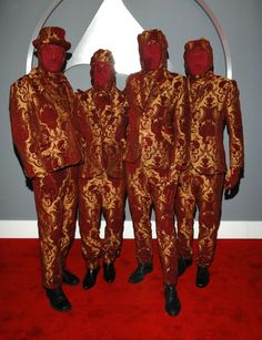 OK Go at the 49th GRAMMY Awards in 2007.