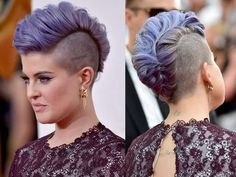 kelly osbourne mohawk - Google Search - im not going for a hawk but this is amazing