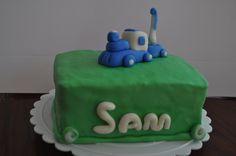Train bday cake