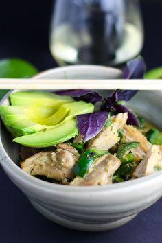Avocado Green Curry | platingsandpairings.com