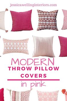 Cheap throw pillow covers are an easy and inexpensive way to change up your living room decor. These stylish throw pillows are colorful, modern, and Boho. Cheap Throw Pillow Covers, Square Pillow Covers, Navy Blue Throw Pillows, Modern Throw Pillows, Modern Cottage Decor, Contemporary Cottage, Eclectic Furniture, Vintage Interior Design, Blog