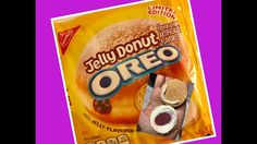 Limited Edition Jelly Donut Oreos Review