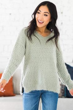 We are absolutely head over heels for our new Lex Fuzzy Knit Sweater! The fun color options and popcorn design, our sweater is sure to make you the envy of all your friends! The super-soft cozy fabric and a loose long fit make this the perfect fall and winter piece to snuggle in all season long! Trust us when we say you will love the way you look and feel in our sweater!