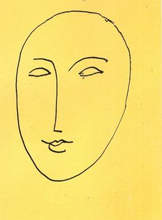 Face - Mask by Henri Matisse