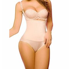 4276602a5c51 Jxts Top Underbust Shapewear For Women Seamless High Waist Bodysuit Firm  Tummy Control Shapewear Sexy Thong