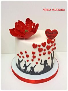 Family Love by Irina-Adriana - http://cakesdecor.com/cakes/288406-family-love