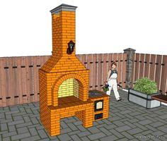 Уличная печь, барбекю, коптильня - Бесплатные порядовки печей