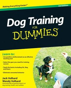 Dog Training For Dummies $21.99