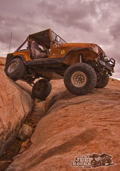 Jeep Moab ~ another sign of a GOOD day!!