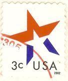 Selos - Stamp Collecting: 2002 - Estados Unidos / United States
