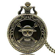 Golden Magic Sakura Pendant Pocket Watch For Girls Classic Anime Necklace Clock Gifts For Kids Daughter Hot Sale 50-70% OFF Watches