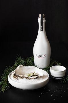 sake y ostras