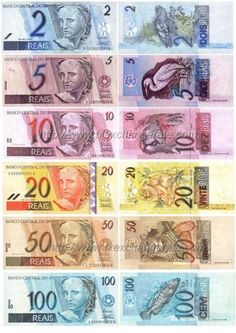 Brazilian Real(BRL) Currency Images