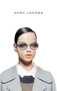 fashion collage - creepy weird halloween inspired - chicquero - marc jacobs