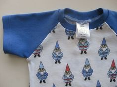 Baby Shirt Raglan Gnomies 6-12 months baby infant toddler
