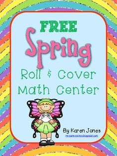 FREE Spring Math game-- fun way to practice addition facts