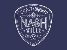 Craft Brewed in Nashville by Derrick Castle