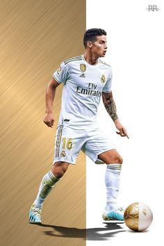 James Rodríguez Ramos Real Madrid, Real Madrid Club, Real Madrid Players, Real Madrid Football, Barcelona Soccer, Fc Barcelona, James Rodriguez Wallpapers, Everton, Real Madrid Manchester United