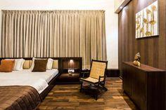 """nivriti nilaya"" by ar.shailesh dhanani, Architect in surat,Gujarat, India Traditional Bedroom, Curtains, Interior Design, Inspiration, Design Ideas, Inspired, Home Decor, Photos, Organization"