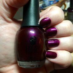 Finger Paints - Paint Me Purple #nailart - bellashoot.com