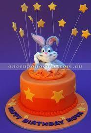 bugs bunny cake -