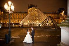 #paris #wedding #bride #groom #gown