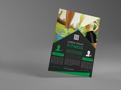 Fitness Flyer/Gym flyer by themexriver on @creativemarket