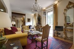 Florence Appartment to rent Via Tornabuoni 19 . Ask Villa le Barone