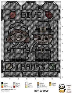 Give Thanks - Pilgrims