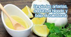 Destapa tus arterias, baja el colesterol y regula la tensión con este remedio