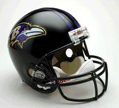 Baltimore Ravens Helmet Riddell Replica Full Size VSR4 Style