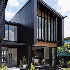 28 Ideas For Exterior House Design Modern Facades Architecture House Cladding, Exterior Cladding, Facade House, Oak Cladding, House Facades, Exterior Stairs, Facade Architecture, Residential Architecture, Beautiful Architecture