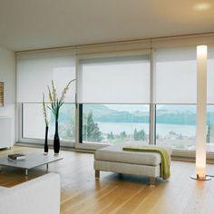 Rolgordijnen op maat | MaatStudio.nl, brede ramen, schuifpui