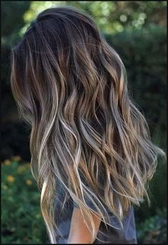 Today the most popular Balayage Ombre hair color . Today the most popular Balayage Ombre hair colors Ombré Hair, Big Hair, Afro Hair, Winter Hairstyles, Pretty Hairstyles, Latest Hairstyles, Wedding Hairstyles, Hairstyle Ideas, Black Hairstyles