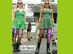Doctor Faust is an alternative fashion brand with wild prints like bat wings prints, unicorns, B-movie, occult symbols and many more.