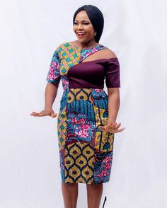 Try out this amazing beautiful Ankara dress we have for you ,This specially Ankara dress we selected for you will make you look Fabulous and stand out in any Occasion or Event ,you Lady of styles attend. High Fashion Dresses, Latest African Fashion Dresses, African Dresses For Women, African Print Fashion, Africa Fashion, African Attire, African Wear, African Women, Simple Gowns
