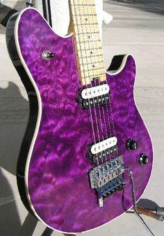 Edward Van Halen Peavey Wolfgang First Year Quilt Guitars at Rock'N Roll Weekend